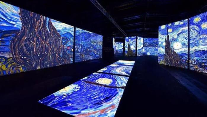 中国美术馆网红展背后用到了哪些多媒体技术呢?